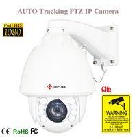 ptz camera pan tilt zoom achat en gros de-PTZ ip zoom pan tilt caméra avec 1080p suivi automatique ip PTZ caméra 20x IP réseau en plein air onvif plugplay système