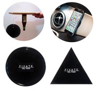 Wholesale Car Sticker Holder - Fixate Gel Pads Strong Sticky Anti Slip Mat Non Slip Car Dashboard Wall Sticker Powerful Silica Magic Car Mobile Phone Holder