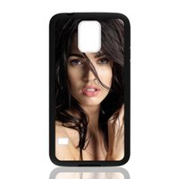 Wholesale Megan Fox Case - Movie Star Megan Fox for samsung galaxy S3 S4 S5 S6 note2 note4 note3 hard plastic cell phone back cover case
