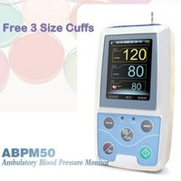 Wholesale Abpm Holter - NIBP Monitor 24HOUR Ambulatory Blood Pressure Monitor Holter ABPM 50 +SOFTWARE