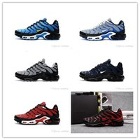 Wholesale Summer Crochet Fashion - hot sale 2017 Mens Athletic 2018 top quality TN KPU Air Running Shoes Adult Fashion Sport Run Trainer Sneaker eur size 40-46
