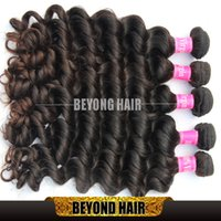 Wholesale Premium Remy Virgin Hair - Premium Peruvian Natural Wave Hair 3Pcs 300g Lot Wavy Unprocessed Hair Extensions Virgin Remy Human Hair Weft 8 to 34 inch
