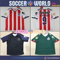 607a449cf6c Soccer Men Short New Chivas de Guadalajara Third Green Football Shirt  classic camisetas de futebol A