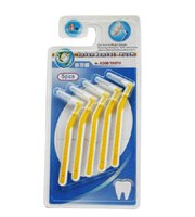 Wholesale Dental Kit Brushes - Wholesale-Tooth brush tools for clean Teeth Hygiene Kit Professional Dental Stainless Steel Toothpick free shipping new design unisex