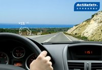 Wholesale Actisafety Head Up Display - New Arrival! ActiSafety Head Up Display HUD ASH-4+OBD II   EOBD,shows Speed,Water Temperature,Fuel Consumption etc on Windshield order<$18no