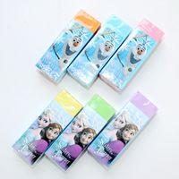 Wholesale Princess Erasers - Princess Pencil Erasers Cartoon Children Eraser Stationery Set Mix Color