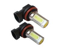 luzes led xenon para carros venda por atacado-2x 7.5 w xenon branco 12 v h11 h8 poder led cob carro foglight luz de nevoeiro lâmpada h7 h4 h3 h1 1156 1157 9005 9006 a21car luz de sinal de volta