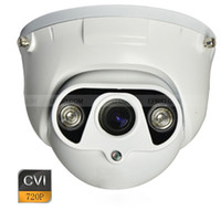 Videocamera HD-CVI 720p 1.0MP 3,6 millimetri di metallo Dome Camera 2 IR di allineamento CVI Sicurezza