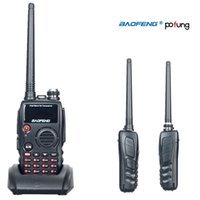 All'ingrosso-Pofung / Baofeng UV-A52 A-52 comunicador Radio walkie-talkie a due bande radio bidirezionale 5W 128CH UHF VHF FM VOX dual DisplayCB