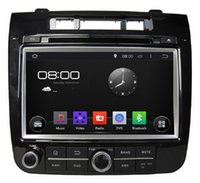 """Wholesale Dvd 3g Touareg - 1204*600 4-core HD 2 din 8"""" Android 4.4 Car DVD Player for VW Volkswagen TOUAREG 2010-2014 With 3G WIFI Bluetooth IPOD RadioTV AUX IN"""