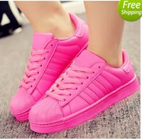 Wholesale Couples Cotton Gift - 2016+gift Men and women 2016 superstar Pharrell Williams Supercolor 2 Couples sneaker (shoe)