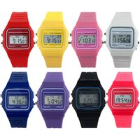 Wholesale Vintage Sale Tags - Hot Sale New Arrival Boys Girls Mens New Silicone Rubber Strap Watch Retro Vintage Digital WristWatch
