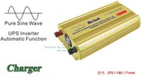 Wholesale Pure Sine Wave Inverter Ups - Hot Selling Sufficient Pure Sine Wave 1000W Power Inverter with UPS and Charger DC to Car inverters Watt Inverter Meind Dropshipping