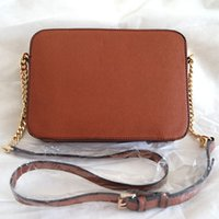 Wholesale crossbody handbag patterns - SIZE 23cm * 5cm * 16cm fashion women famous MYK handbag leather cross pattern square bags one shoulder messenger bag crossbody chain purse