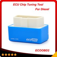 Wholesale Arrival Jaguar - 2016 New Arrival EcoOBD2 Diesel Car Chip Tuning Box Plug and Drive OBD2 Chip Tuning Box Lower Fuel and Lower Emission