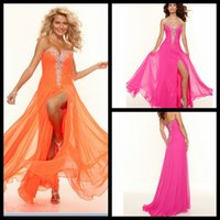 Wholesale Coral Sample - Cheap Long Evening Dresses Vestido De Festa Woman Evening Real Sample Beaded Prom Gowns Floor Length Vestido Formatura Longo
