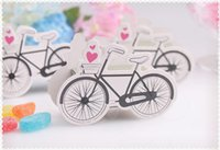 Wholesale bicycle party decorations - Wholesale- Creative bicycle Candy Box Wedding Party Marriage Decoration Travel Theme Wedding favors gifts for guest