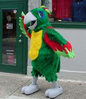 Wholesale Mascots Costumes Parrot - Custom parrot mascot costume free shipping