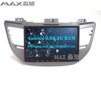Wholesale Hyundai Tucson Gps Dvd - HD 2G RAM 16G ROM Android 6.0 Car DVD Player for Hyundai tucson 2015 2016 with 1024*600 Radio BT WIFI SWC GPS