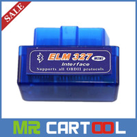 Wholesale Supports Obd2 Protocols - Super Mini ELM327 1.5 Bluetooth OBD2 elm 327 Support Multi-brands Work on Android Torque PC Support All OBDII Protocols Multi-Languages
