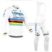 ingrosso merida maglie lunghe-2014 Maglia uomo MERIDA da ciclismo in autunno autunnale con pantaloni a manica lunga (bavaglino) in abbigliamento da ciclismo, abbigliamento da bici
