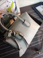 Wholesale Handbag Neon - Wholesale-2015 Brand Designer Summer Women Shoulder Bags Large Capacity Macaron Colors Female Neon Messenger Purse Tote Handbags N0005