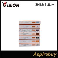 Vente De Tension Variable Pas Cher-Destockage !!! Vision Stylish Mise À Jour Ego Batterie 1300 mAh E Cigarette Vision Élégant Batterie Tension Variable 3.3 V - 4.8 V pour 510 fil
