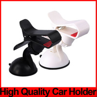 Wholesale Note Windshield - Universal Windscreen Car Mount Holder Adjustable Width Windshield Cradle For Samsung Galaxy Note 5 iPhone 6 6S 5 5S HTC all Cell Phone 50PCS