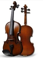 Wholesale Rosin Violin Free Shipping - Free shipping Violino 4 4 Musical Instruments Tianyin Brand quality Antique Spruce Handmade violin,violin case,bow,rosin