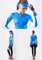Wholesale Tight China - Nuckily 2015 Blue Cycling Jersey Women Long Sleeve Cycling Clothing Cycling Clothes China Mtb Bike Jersey+Cycling Tight