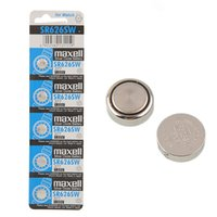 Wholesale Button Battery Silver Oxide - 5pcs SR626SW SR66 Silver Oxide Alkaline Battery button Cell For Watch New Free shipping