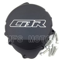 Wholesale Stator Cover Honda - Motorcycle For Honda CBR600RR F5 2007 2008 2009 2010 2011 2012 Black left Billet Motorcycle Engine Stator cover