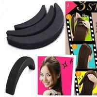 Wholesale Braiding Clip - Hot! 3Pcs Women Fashion Hair Styling Clip Stick Bun Maker Braid Tool Hair Accessories