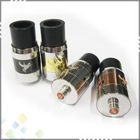 Wholesale steel horses for sale - Group buy Best Rebuildable Atomizer RDA Dark Horse Mod Rebuildable Atomizer Stainless Steel Brass Black E Cig RDA Dripping Tank DHL Free