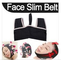 Wholesale Cheeks Face Lift - Fashion 10 PCS 3D V-Line Face Cheek Chin Lift Up Slimming Slim Sleep Mask Belt Band Strap Free Shipping