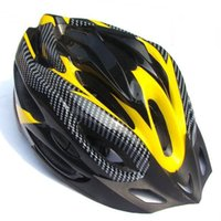 Wholesale Riding Helmet Visor - Wholesale-HIgh Safety Adjustable Carbon Helmet Visor MTB Bike Outdoor Riding Sport 21 Channeled Vents Black  Blue Bicycle Cycling
