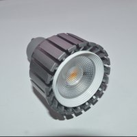 mr16 led lampara de luz regulable al por mayor-La MAZORCA de Dimmable 6w 8w llevó la lámpara de las luces del punto E27 MR16 GU5.3 GU10 llevó las luces caliente blanco frío AC85-265V 12V CE RoHS