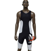 Wholesale Ironman Cycling Clothes - Wholesale-JOB ironman triathlon swimsuit one piece suits running suit tri suit men cycling bike clothes
