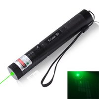 Wholesale Laser Pointer Lock - High Power Green   Red Light Laser Pointer Pen Laser Pen Focus Adjustable with Safety Lock Can Light the the Match