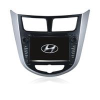 Wholesale Gps Hyundai Verna - Car audio System for Hyundai VERNA SOLARIS ACCENT(2010-2012) with GPS, Bluetooth, Radio, Ipod car dvd