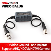 Isolateur vidéo France-HD Coaxial Video Ground Loop Isolator Support Analog HD Camera, Travailler avec AHD 720P / 1080P, TVI 720P / 1080P, CVI 1080P, mais pas approprié pour 720P