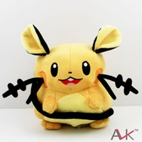 Wholesale new children s toys resale online - Cartoon Xy Plush Toys Dedenne cm With Tags New Fashion Cute Cartoon Pikachu Soft Stuffed Dolls For Children S Boys Girls Gift