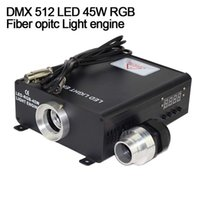 Wholesale DMX RGB W LED Fiber Optic Engine for all kinds fiber optics