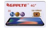 Wholesale Gpp Sprint Unlock - Newest GPPLTE PRO 3 Unlock sprint JAPAN AU softbank iPhone8P ios11.1.2 7 6S 6 5S Plus + LTE GPP Unlocking Sim pro r sim12