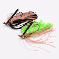 Wholesale Crappie Lures - New 9g spinner bait, fishing lure spoons Fresh Water Shallow Water Bass Walleye Crappie Minnow SPINNERBAIT LURES 5ps