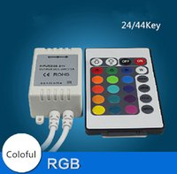 Wholesale Low Infrared Led - led remove controller colorful RGB Infrared Controller infrared low-power control function remove controller adapter free shipping