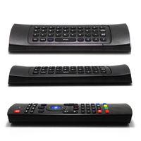 ingrosso mx3 mouse d'aria-X8 Air Fly Mouse MX3 2.4GHz Telecomando senza fili della tastiera Somatosensory per MX3 MXQ M8 M8S Android TV Box Smart box 10 pz Spedizione gratuita