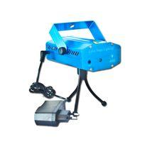 ingrosso luci laser a colori-150MW Mini Red Green Moving Laser Stage Lighting LED Mini blu nero Colore Club Disco DJ Party Light Regali di Natale