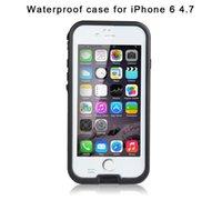 Wholesale Iphone Cases Sellers - Best Seller Redpepper iPhone 6 4.7 inch Waterproof Case 6.6ft Underwater Shockproof Snowproof Dirtproof Impact Resistant Cover Case