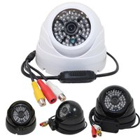 Wholesale Security Camera 48ir - Home Security Digital Video Recorder AV Output 48IR LED Dome Surveillance Security CCTV Camera